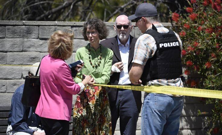 Ένας νεκρός και τρεις τραυματίες από την επίθεση ενόπλου σε συναγωγή στο Σαν Ντιέγκο