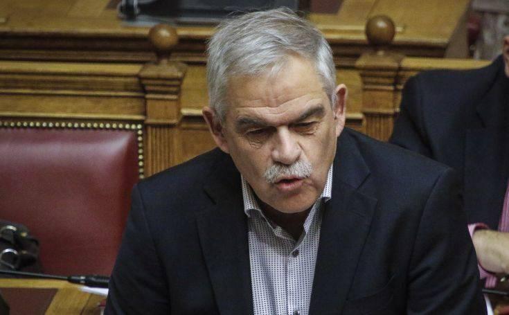 Τόσκας: Η ΝΔ σχεδιάζει να φέρει αντικοινωνικά μέτρα που συνδυάζονται με καταστολή