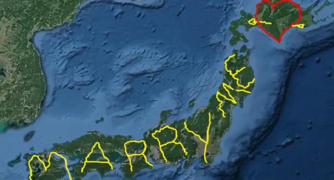 Χρειάστηκαν 10 χρόνια και 7.000 χλμ. αλλά έκανε την πιο τέλεια πρόταση γάμου [βίντεο]