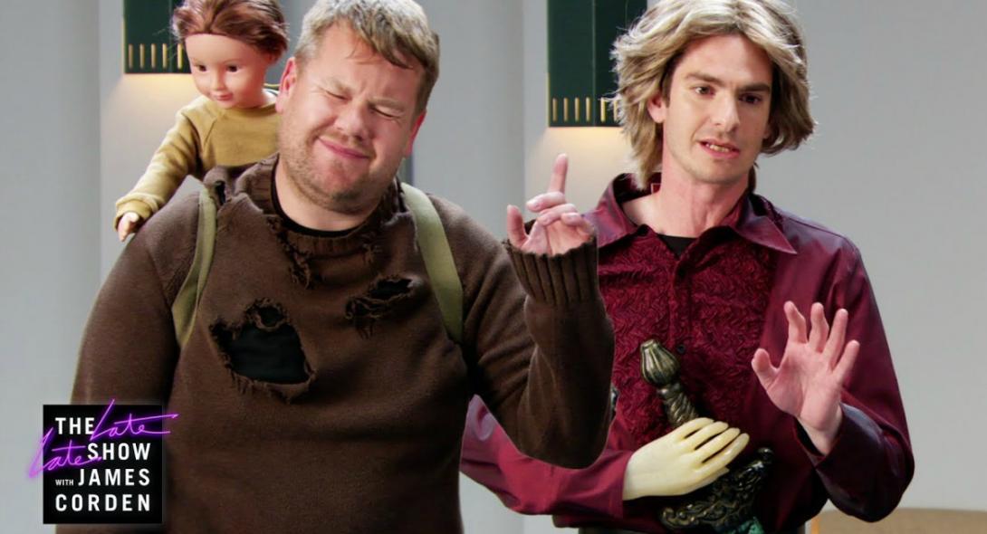 Ο James Corden και ο Andrew Garfield κάνουν οντισιόν για το Game of Thrones [βίντεο]