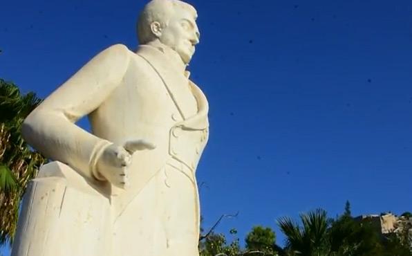 Ναύπλιο: Βανδάλισαν ξανά το άγαλμα του Καποδίστρια (εικόνες)