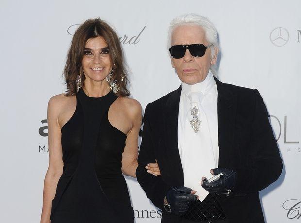 H Carine Roitfeld είναι η νέα σύμβουλος μόδας του οίκου Karl Lagerfeld