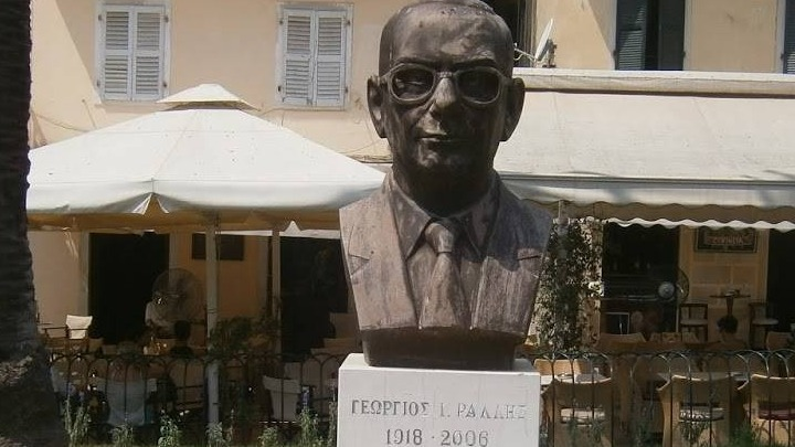 Κέρκυρα: Δύο συλλήψεις για την αφαίρεση της προτομής του Γεωργίου Ράλλη