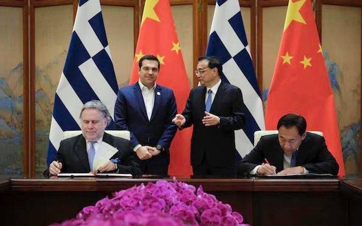 Υπεγράφη το νέο τριετές Πλαίσιο Συνεργασίας Ελλάδας-Κίνας