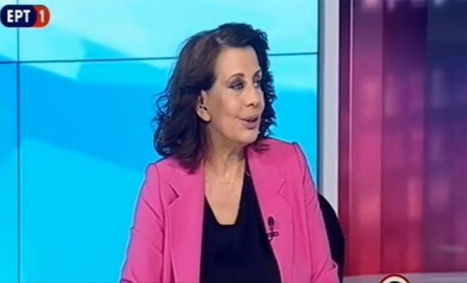 ΕΡΤ: Το αντίο της Ακριβοπούλου στον «αέρα»! [Βίντεο]
