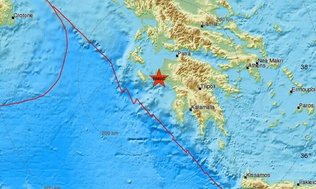 Σεισμός 4,3 Ρίχτερ στην Αμαλιάδα