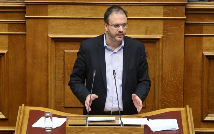 Θεοχαρόπουλος: Είμαστε υπέρ της ιδιωτικής πρωτοβουλίας με κανόνες και στόχευση στην αειφόρο ανάπτυξη