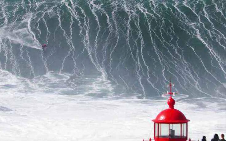 Αυτό θα πει «δαμάζοντας τα κύματα»