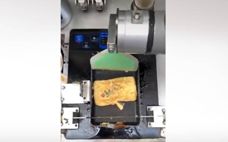 Θα τρώγατε ομελέτα από ένα ρομπότ;
