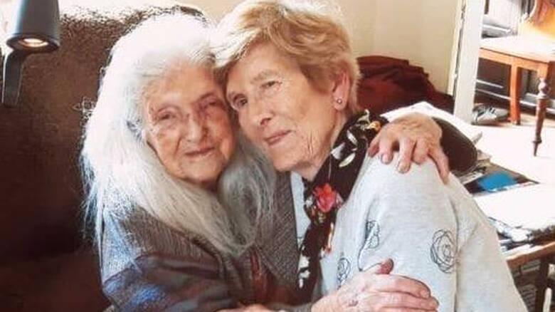 Μια 81χρονη συνάντησε για πρώτη φορά την μητέρα της που είναι 104 ετών [φωτο]