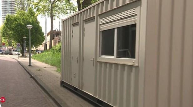 Έκλεισαν Airbnb στο Άμστερνταμ και τους έβαλαν σε κοντέινερ [φωτο]