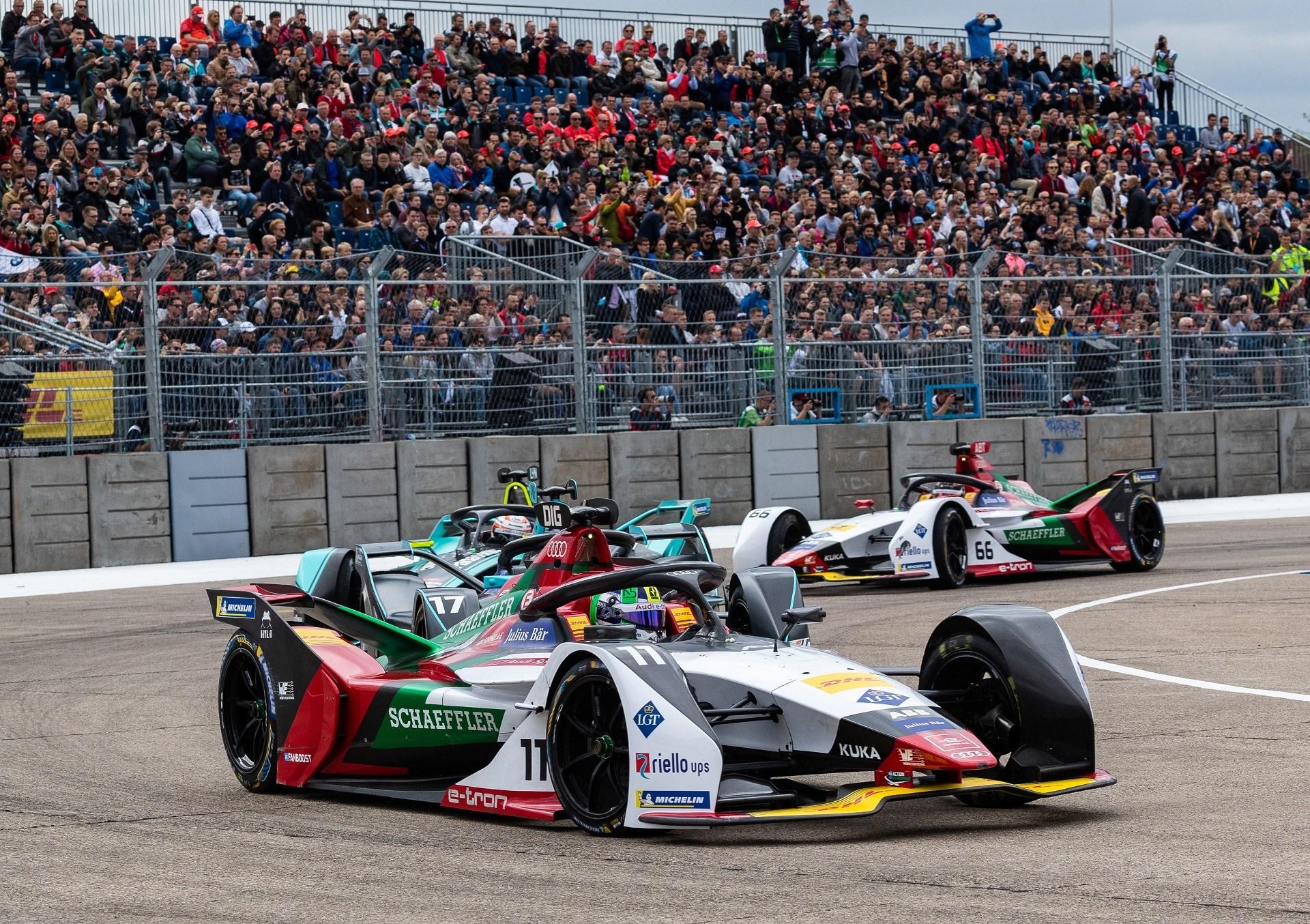 Θρίαμβος για την Audi στον αγώνα της Formula E στο Βερολίνο