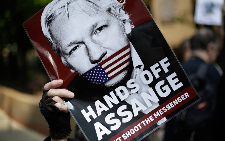 Τζούλιαν Ασάνζ: Αύριο η απάντηση του δικαστηρίου στο αίτημα για σύλληψή του