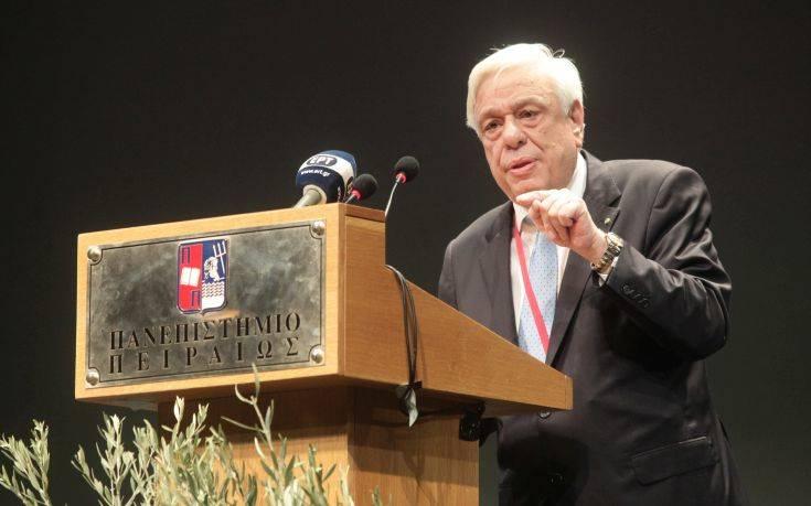 Παυλόπουλος: Η Τουρκία να σεβαστεί το Δίκαιο της Θάλασσας και τους κανόνες που τη δεσμεύουν