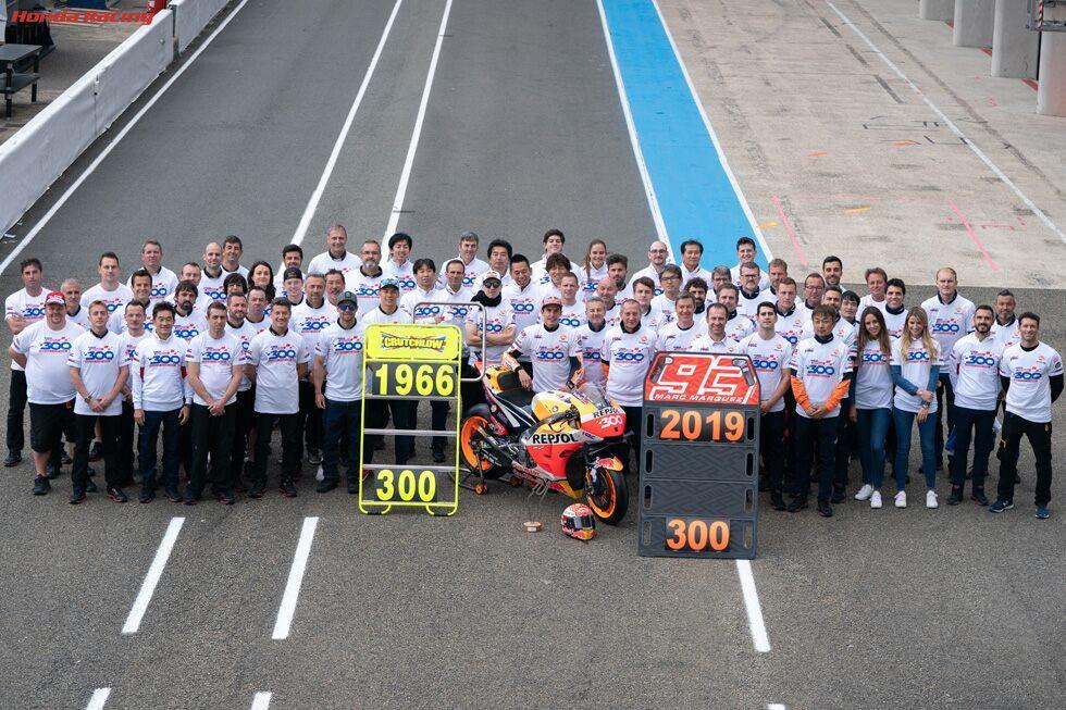 MotoGP: 300 φορές στο βάθρο η Honda