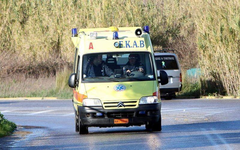 Κρήτη: Άνδρας έπεσε στο κενό από σκαλωσιά ύψους πέντε μέτρων
