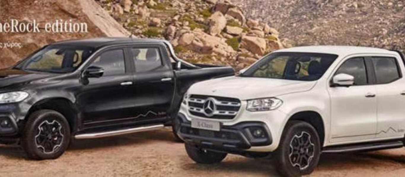 "X-Class ""The Rock Edition"" με έκπτωση 6.940 ευρώ και δωρεάν σέρβις"