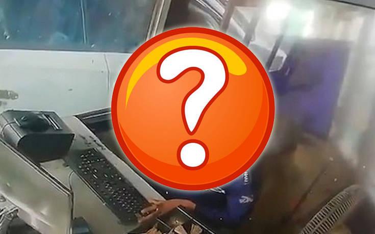 Μια τριχωτή κλέφτρα εισβάλει σε σταθμό διοδίων