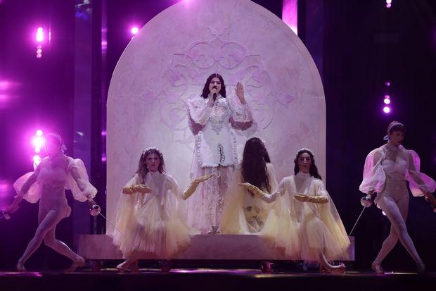 Κατερίνα Ντούσκα – Eurovision 2019: Το αναγεννησιακού ύφους φόρεμά της είναι ό,τι πιο εντυπωσιακό έχουμε δει φέτος