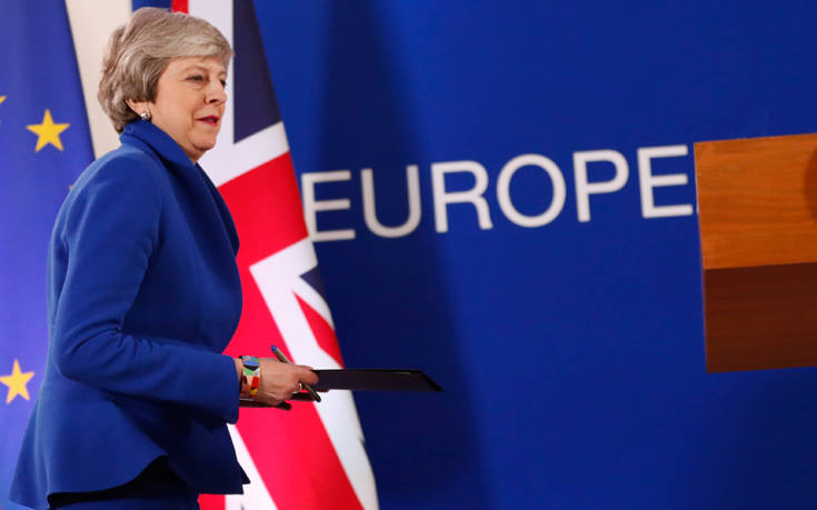Brexit: Βελτιωμένη δέσμη μέτρων υπόσχεται η Μέι στο νέο νομοσχέδιο της Συμφωνίας Αποχώρησης