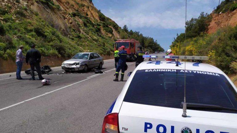 Χανιά: Δύο νεκροί και μία τραυματίας σε τροχαίο