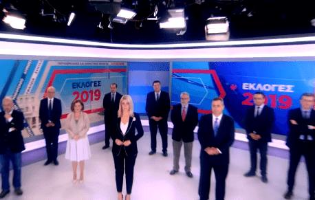H εκλογική βραδιά στον ΣΚΑΪ (trailer)