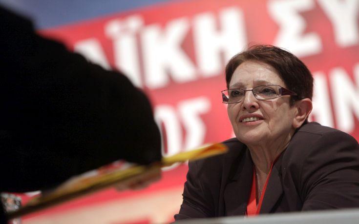 Παπαρήγα: Το ΚΚΕ είπε την αλήθεια για την Ε.Ε. και την ευρωζώνη