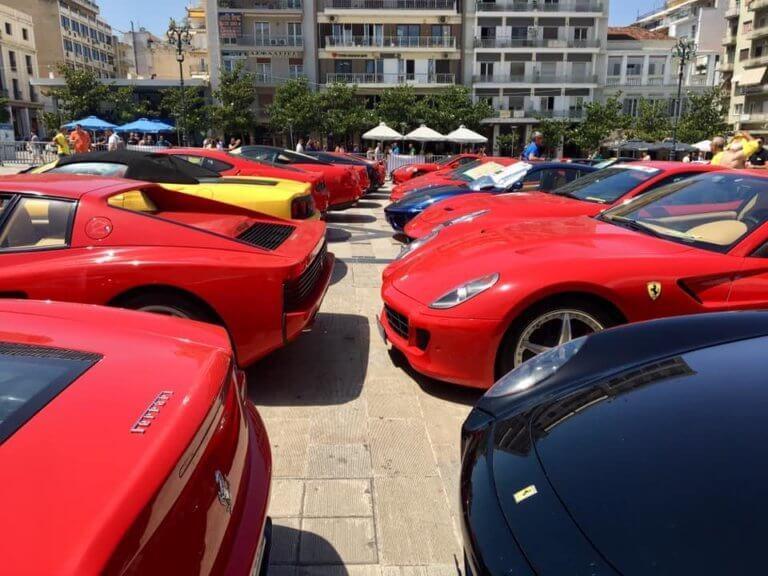 Στα «κόκκινα» η Πάτρα με τα ακριβότερα και πιο όμορφα αυτοκίνητα στον κόσμο