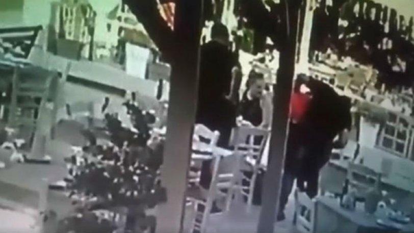 Χανιά: Ιδιοκτήτης εστιατορίου έσωσε πελάτη από βέβαιο πνιγμό [βίντεο]