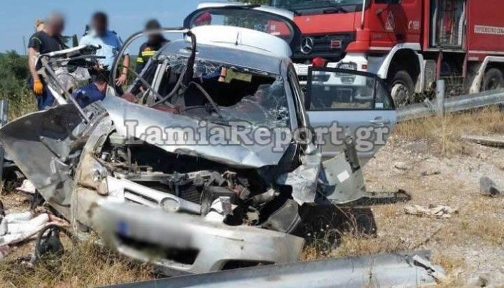 Τραγικό τροχαίο δυστύχημα στη Φθιώτιδα με δύο νεαρά αδέλφια