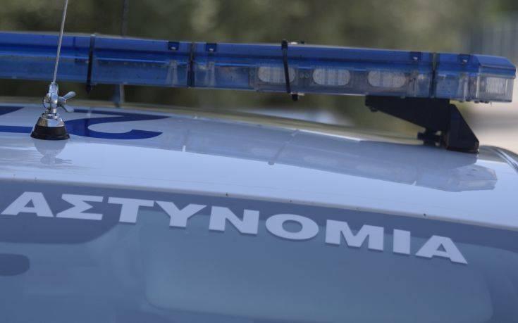Αυτοκίνητο εμβόλισε περιπολικό στις Συκιές Θεσσαλονίκης