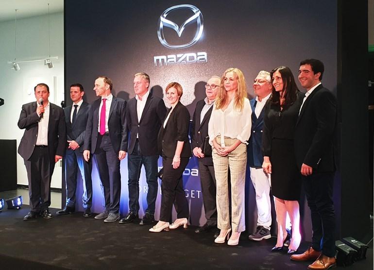 Στο νέο πρότυπο έκθεσης στην Ελλάδα και στην Ευρώπη τα εγκαίνια της Mazda
