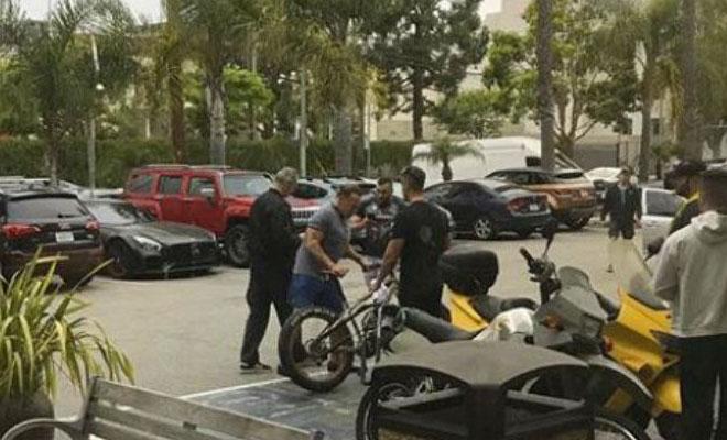Έκανε το λάθος να προσπαθήσει να κλέψει το ποδήλατο του Άρλοντ Σβαρτσενέγκερ