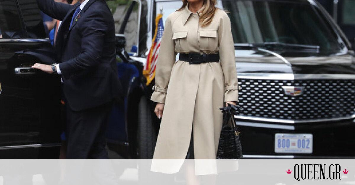 Melania Trump: Τα πιο κομψά σύνολα της Πρώτης Κυρίας των Η.Π.Α., από την επίσκεψή της στο Λονδίνο