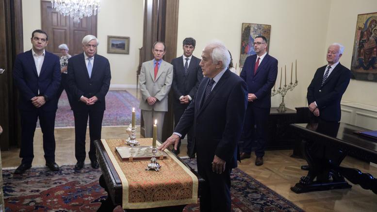 Ορκίστηκε νέος υπουργός Εσωτερικών ο Αντώνης Ρουπακιώτης