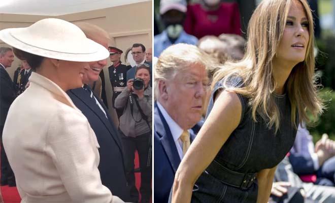 Έκανε καμάκι στη Μελάνια μπροστά στον Τραμπ – «Είναι καλή, πρόεδρε, αν ήμουν 20 χρόνια νεότερος…»