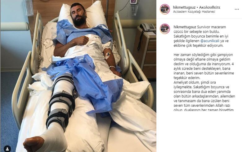 Χικμέτ – Οι φωτογραφίες από το νοσοκομείο με τη Ρία στο πλευρό του!