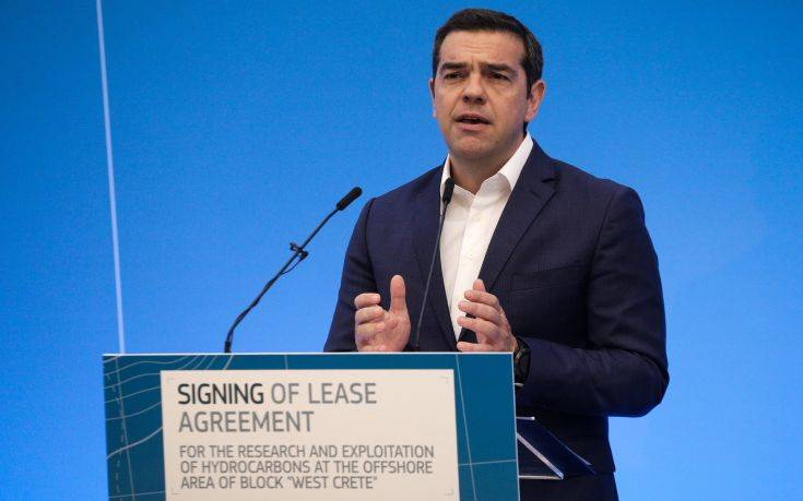 Τσίπρας: Ο EastMed ανοίγει δρόμο για εμπέδωση σταθερότητας και ειρήνης στην περιοχή