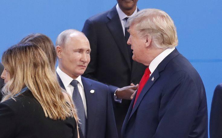 Έρχεται μία «στο πόδι» συνάντηση Πούτιν-Τραμπ