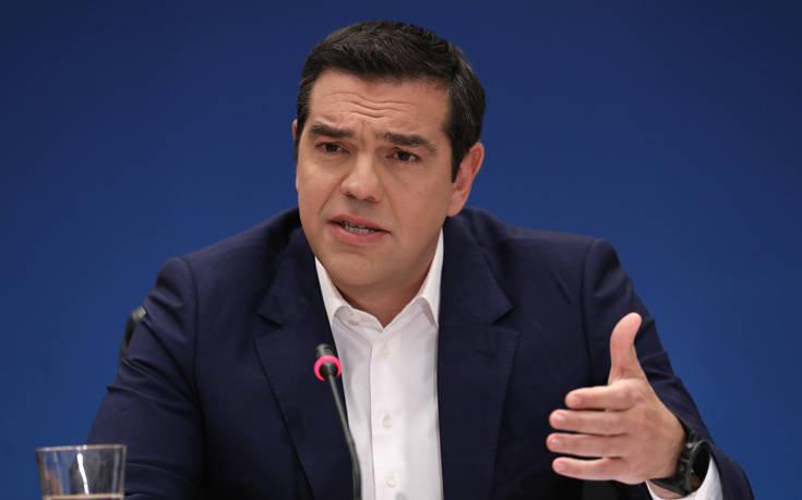 Τσίπρας: Ο ελληνικός λαός στάθηκε μπροστά στην προσφυγική κρίση με γενναιότητα