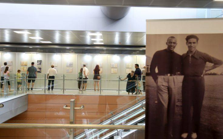 Συνεχίζεται η έκθεση για τον Λαμπράκη στο σταθμό «Ευκλείδης» του μετρό Θεσσαλονίκης