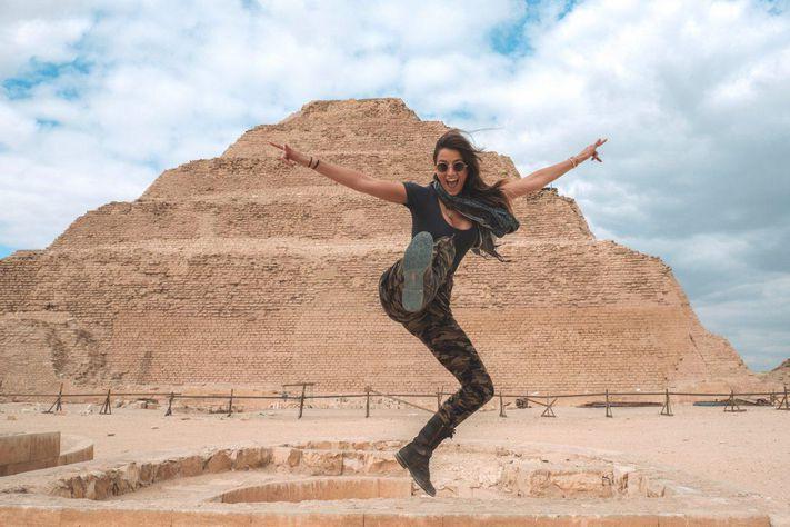 Ρεκόρ Γκίνες για 21χρονη που ταξίδεψε σε όλες τις χώρες του κόσμου [φωτο]