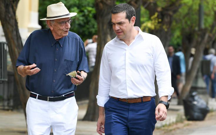 Εθνικές εκλογές 2019: Το «ευχαριστώ» του Αλέξη Τσίπρα στον Βασίλη Βασιλικό