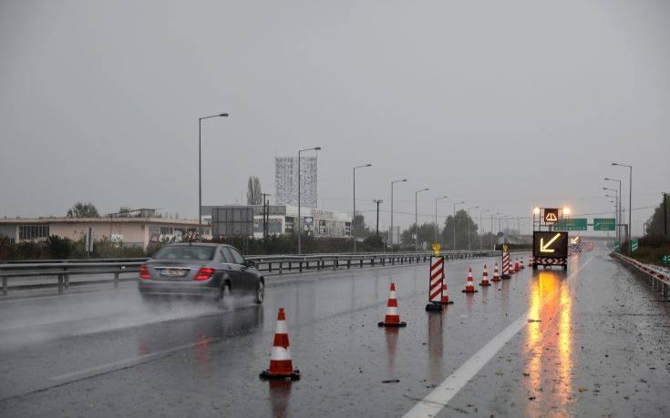 Κυκλοφοριακές ρυθμίσεις μέχρι την Παρασκευή στην E.O. Θεσσαλονίκης – Αθηνών