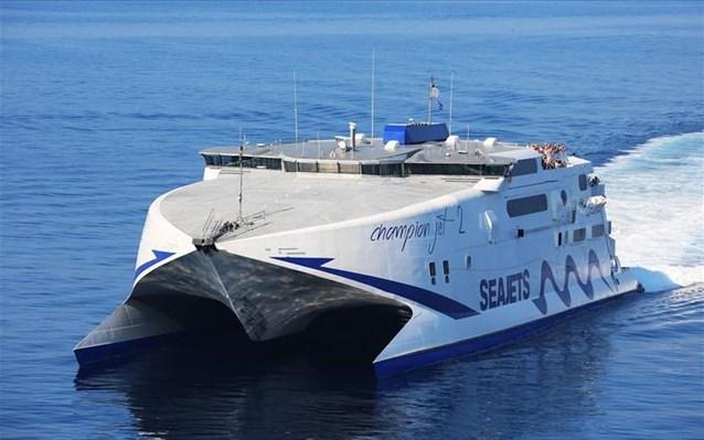 Μηχανική βλάβη στο Champion Jet που ταξιδεύει από Κρήτη για Σαντορίνη