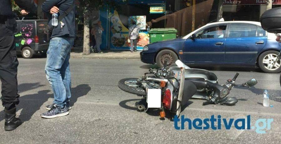 Τραγωδία στη Θεσσαλονίκη: Μοτοποδήλατο συγκρούστηκε με φορτηγό – Ένας νεκρός