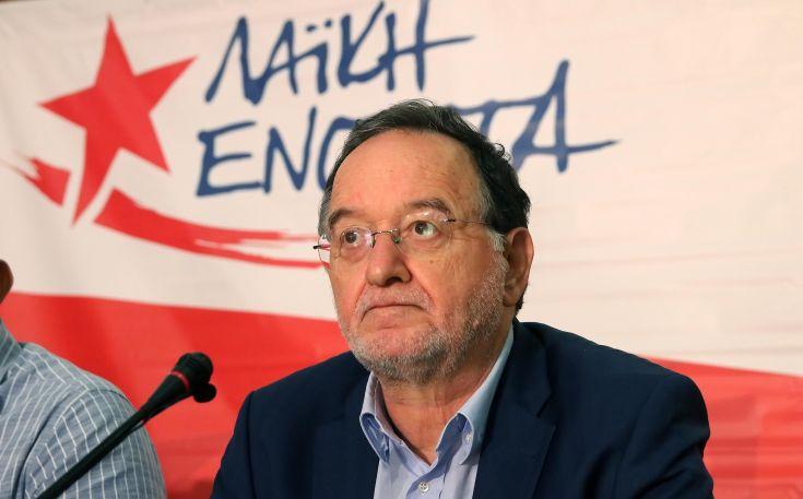 Λαφαζάνης: Δημοκρατική ανατροπή για να αποτραπεί ο Αττίλας-3 στον θαλάσσιο χώρο της Κύπρου
