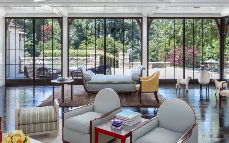 Το μέγαρο του Μπραντ Πιτ και της Τζένιφερ Άνιστον που πωλείται έναντι 43 εκατ. ευρώ