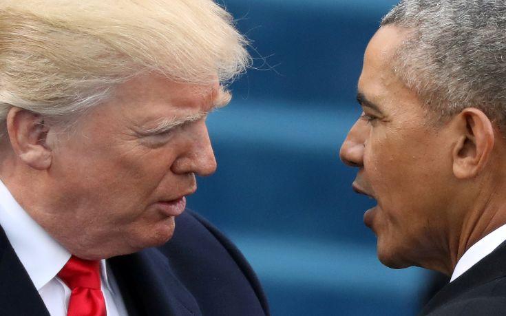 Ο Ομπάμα «τρώει» τον Τραμπ στο… Twitter