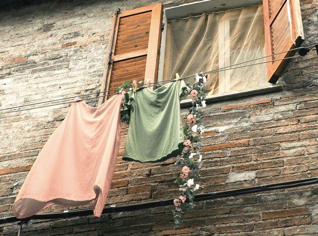 H μυρωδιά των φρεσκοπλυμένων ρούχων